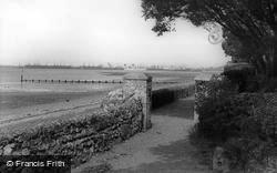 Netley, View From The Castle Grounds c.1960