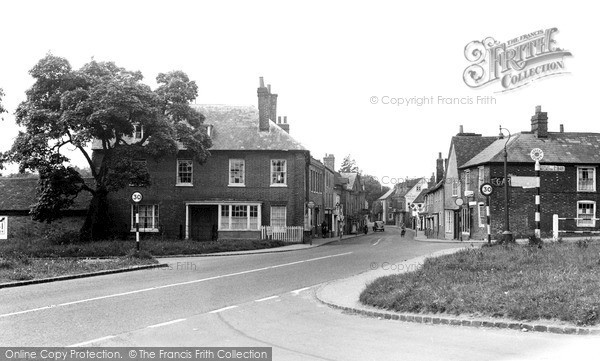 Photo of Nettlebed, High Street c.1955
