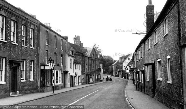 Photo of Nettlebed, High Street c.1955