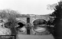 Nevern, The Bridge c.1955