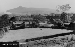 Nevern, The Mountains c.1955