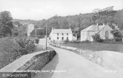 Nevern, The Village c.1950