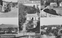 Nevern, The Village c.1955