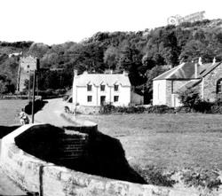 Nevern, Village From The Bridge c.1955