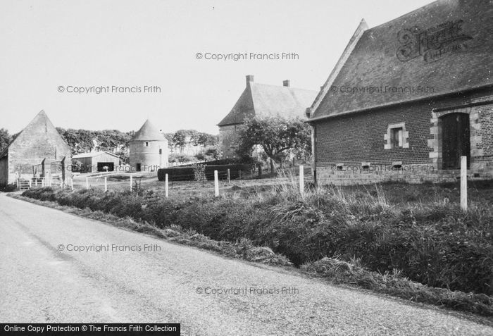 Photo of Neville, Typical Normandy Farm 1964