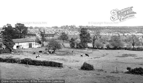 Photo of New Bradwell, c.1955