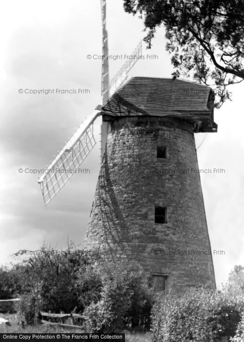 ,New Bradwell, the Old Windmill c1955, Buckinghamshire,