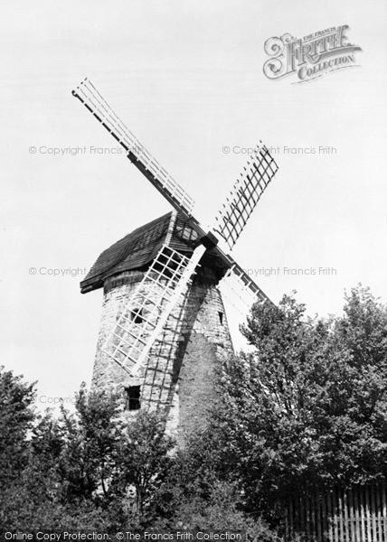 Photo of New Bradwell, The Windmill c.1955