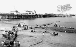 New Brighton, Beach And Pier c.1960