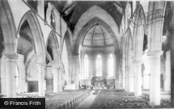 New Brighton, Church Interior 1895