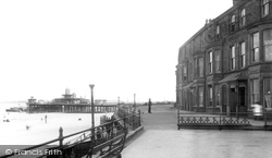 New Brighton, Pier And Parade 1892