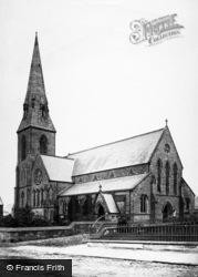 New Brighton, St James Church c.1885