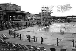 New Brighton, The Bathing Pool c.1950