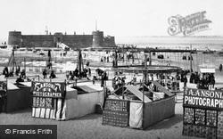 New Brighton, The Beach 1887
