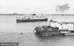 "New Brighton, The ""Leasowe"" Ferry c.1960"