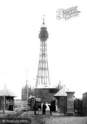 New Brighton, The Tower And Entrance Gates 1898