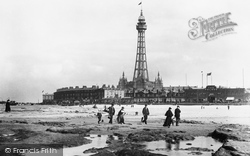 New Brighton, Tower And Sands 1900