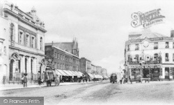 The Marquis Of Granby And The Weslyan Church c.1900, New Cross