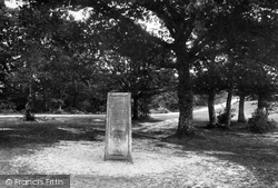 New Forest, Rufus Stone 1890