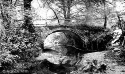 New Forest, The Old Roman Bridge 1908