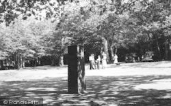 New Forest, The Rufus Stone c.1960