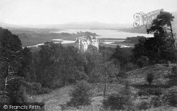 Kenmure Castle And Loch Ken c.1900, New Galloway