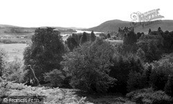 Kenmure Castle And Loch Ken c.1955, New Galloway
