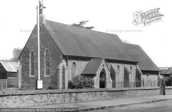 New Haw, Church c1960