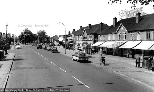 New Haw, Woodham Lane c1965