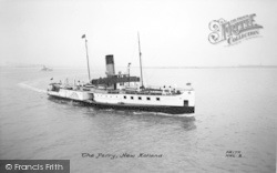 New Holland, The Paddle Steamer 'lincoln Castle' c.1955