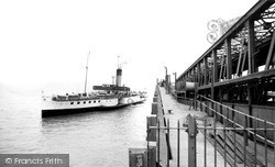 New Holland, The Paddle Steamer 'tattershall Castle' c.1955