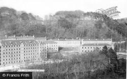 New Lanark, The Mills c.1965