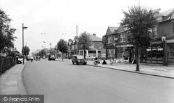 Burlington Road c.1955, New Malden