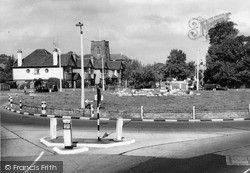 By Pass Roundabout c.1960, New Malden