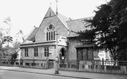 New Malden, Christ Church c1960