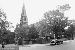 Congregational Church c.1960, New Malden