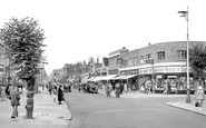 New Malden, High Street c1955