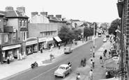 New Malden, High Street c1960