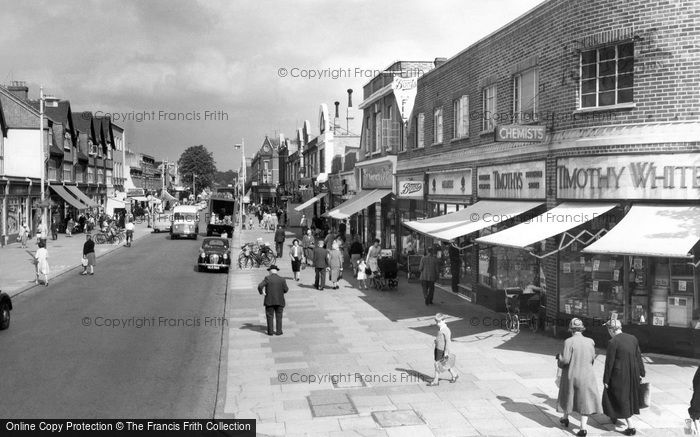 Photo Of New Malden High Street C 1960 Francis Frith