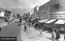 High Street c.1960, New Malden