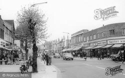 High Street c.1965, New Malden