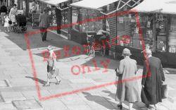 High Street Shopping  c.1960, New Malden