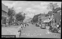 Malden Road c.1955, New Malden