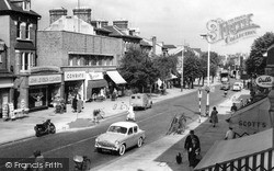 Malden Road c.1960, New Malden