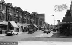 Malden Road c.1965, New Malden