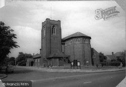 Parish Church Of St James c.1960, New Malden