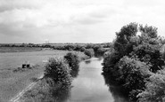 New Mill, the Canal c1955