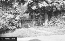 New Mill, The Implement Gate c.1960