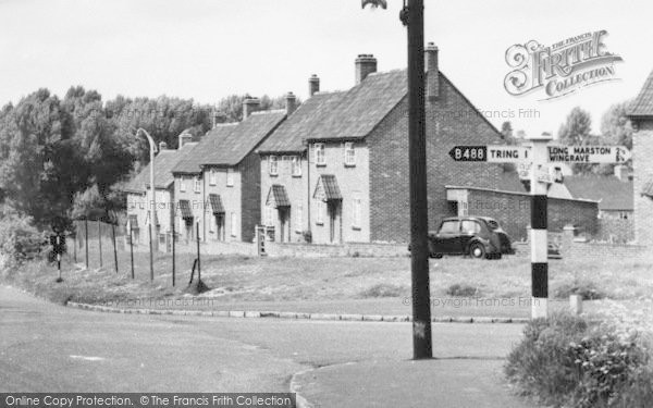 Photo of New Mill, The Village c.1955