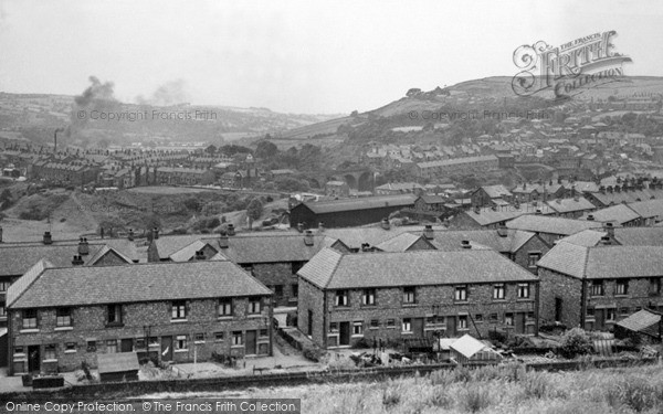 New Mills, general view c1960